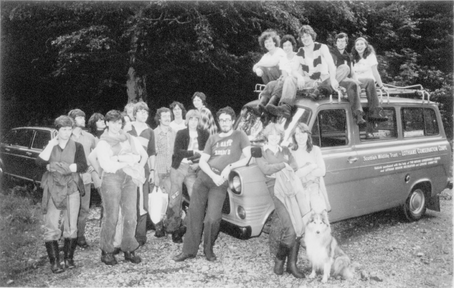 Where it all began (Lothians    Conservation Corps 1975-ish)