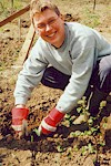 Tree planting in the LCV tree nursery