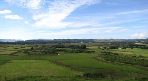 Moine Mhor from Dunadd Fort (credit: Sarah McConachie)